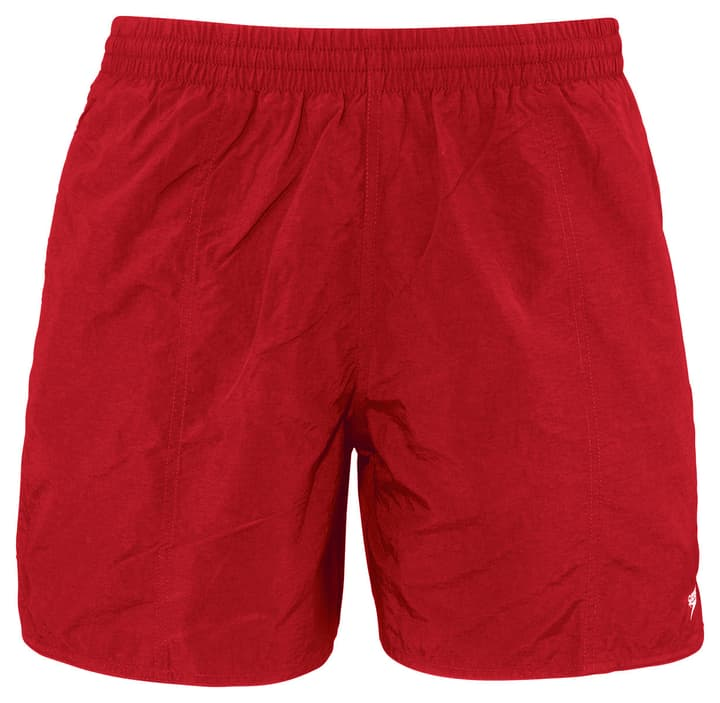 "Solid leisure 16"" Watershort Short de bain pour homme Speedo 462152000430 Couleur rouge Taille M Photo no. 1"
