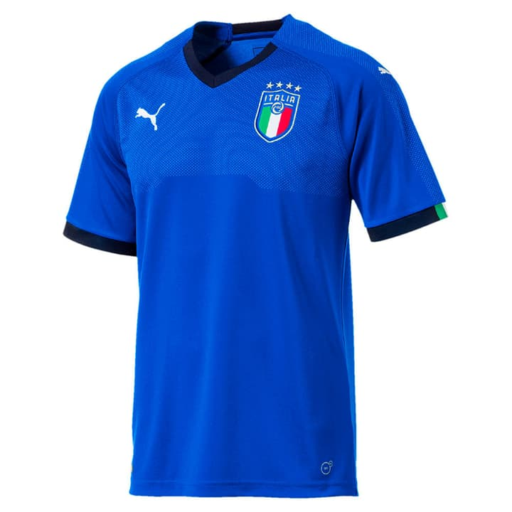Italia Home Shirt Replica Fussball-Heim-Replika Italien Puma 498278100640 Farbe blau Grösse XL Bild-Nr. 1
