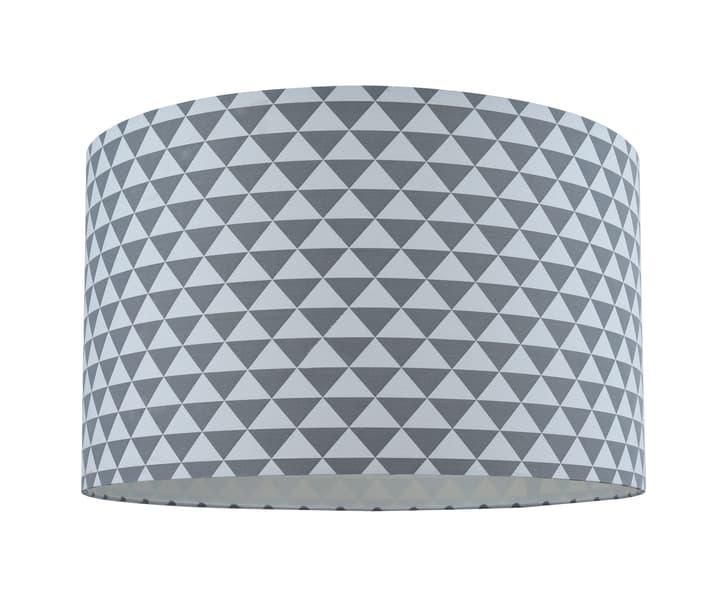 BLING Schirm 40cm Dreieckchen 420804904084 Farbe Grau, Weiss Grösse H: 23.0 cm x D: 40.0 cm Bild Nr. 1