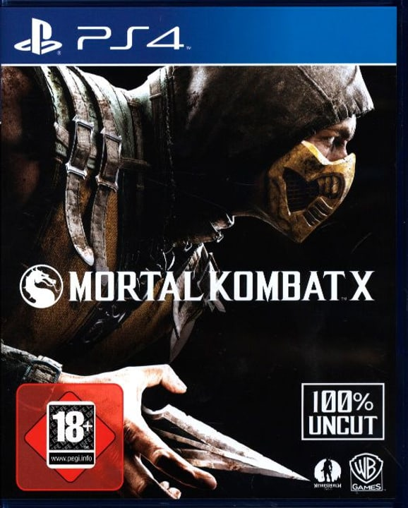 PS4 - Mortal Kombat X Box 785300121821 N. figura 1