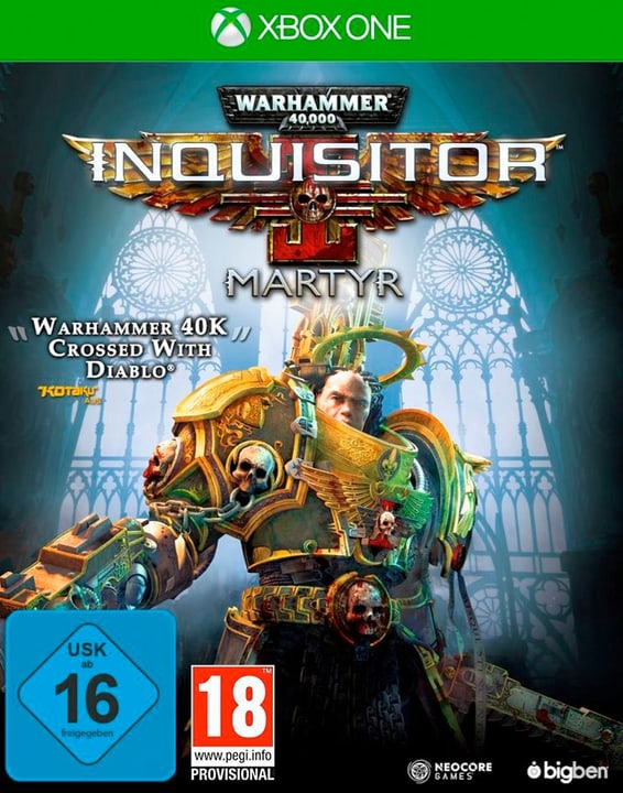 Xbox One - Warhammer 40.000 Inquisitor Martyr Box 785300132949 Photo no. 1