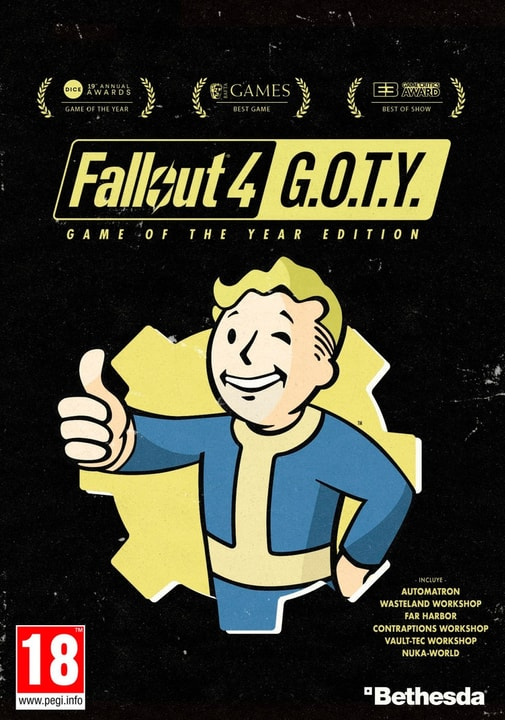 PC - Fallout 4: Game of the Year Edition Digital (ESD) 785300133784 Bild Nr. 1