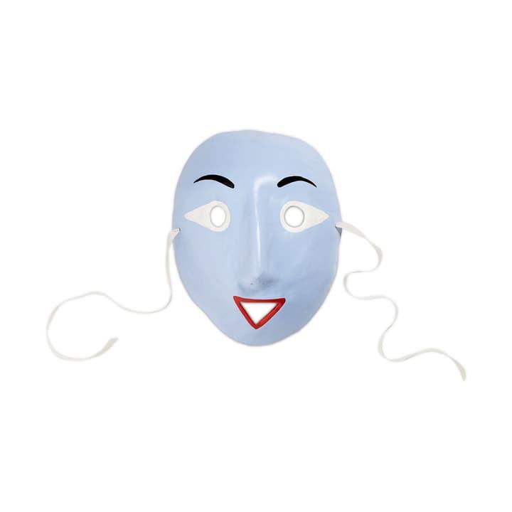 MOOD MASK maschera HAY 396111500000 Dimensioni L: 20.0 cm x P: 10.0 cm x A: 25.0 cm Colore Blu chiaro N. figura 1