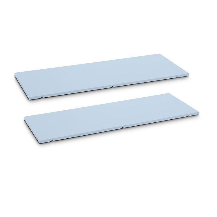SEVEN Ripiano set da 2 90cm Edition Interio 362019850006 Dimensioni L: 90.0 cm x P: 1.4 cm x A: 35.5 cm Colore Blu N. figura 1