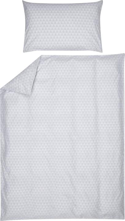 JIMENA Perkal-Kissenbezug 451192410980 Farbe Grau Grösse B: 100.0 cm x H: 65.0 cm Bild Nr. 1