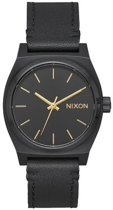 Medium Time Teller Leather All Black 31 mm Montre bracelet Nixon 785300137020 Photo no. 1