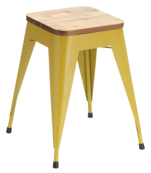 RIGO Hocker 402351502150 Grösse B: 40.0 cm x T: 40.0 cm x H: 48.0 cm Farbe Gelb Bild Nr. 1