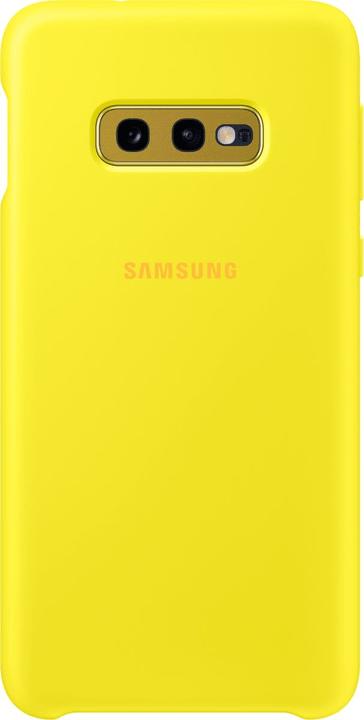 Silicone Cover Yellow Custodia Samsung 785300142429 N. figura 1