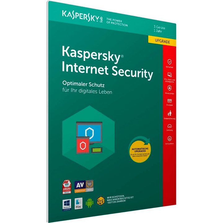 Internet Security Upgrade 1 Year 5 Users PC/Mac/Android (D) Digitale (ESD) 785300133761 N. figura 1