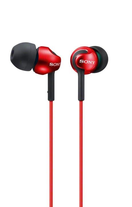 MDR-EX110LPR In-Ear Kopfhörer rot Kopfhörer Sony 772754500000 Bild Nr. 1