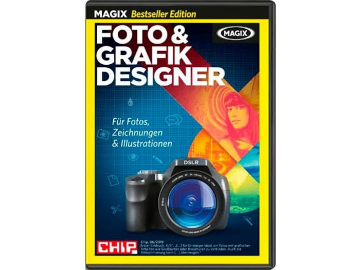 PC Bestseller MAGIX Foto & Grafik Designer Physique (Box) Magix 785300122174 Photo no. 1
