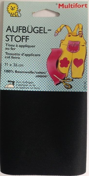 Tissu en coton noir Multifort 665420900000 Photo no. 1