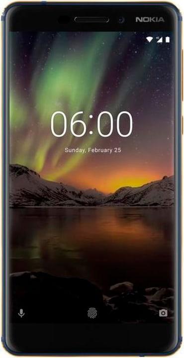 NOKIA 6.1 DS 32 GB bleu Smartphone Nokia 785300149974 Photo no. 1