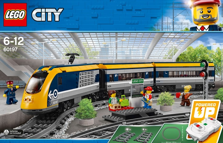 Lego City Treno passeggeri 6019 744555700000 N. figura 1