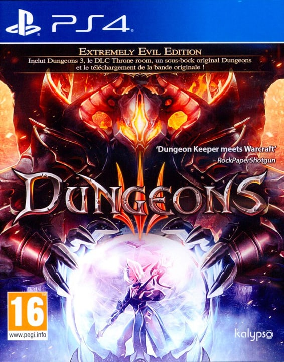 PS4 - Dungeons 3 Physique (Box) 785300129725 Photo no. 1