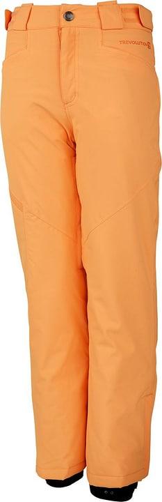 Pantalon de snowboard pour fille Trevolution 466928012836 Couleur orange clair Taille 128 Photo no. 1