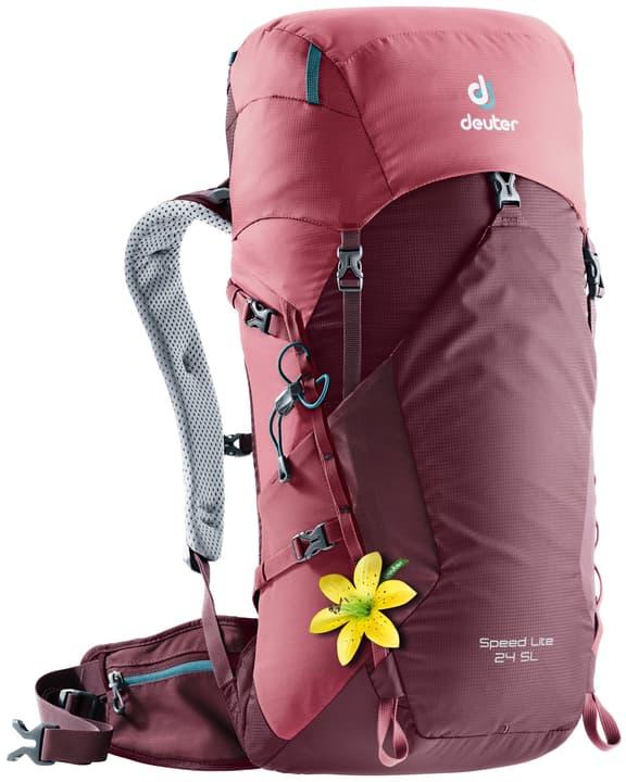 Speed Lite 24 SL Zaino da alpinismo per donna Deuter 460259200030 Colore rosso Taglie Misura unitaria N. figura 1