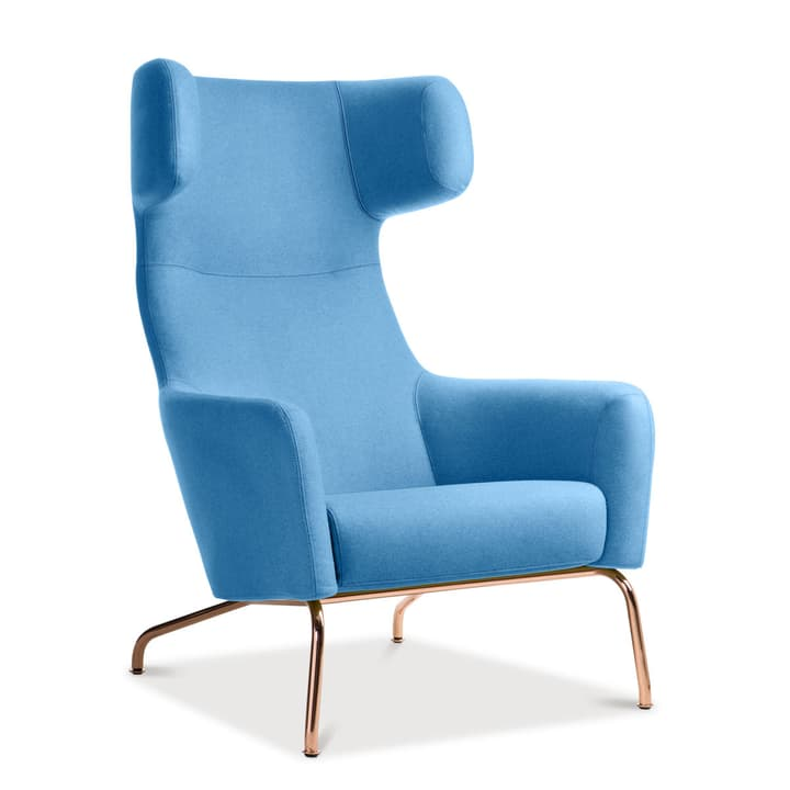 SENADO Sessel 360040266905 Grösse B: 79.0 cm x T: 96.0 cm x H: 107.0 cm Farbe Hellblau Bild Nr. 1