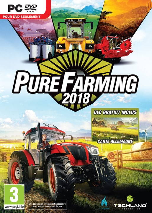 PC - Pure Farming 2018 Day One Edition (F) Physisch (Box) 785300131683 Bild Nr. 1