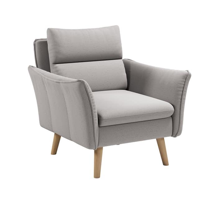 KUCK Sessel 405744807081 Farbe Hellgrau Grösse B: 84.0 cm x T: 101.0 cm x H: 89.0 cm Bild Nr. 1