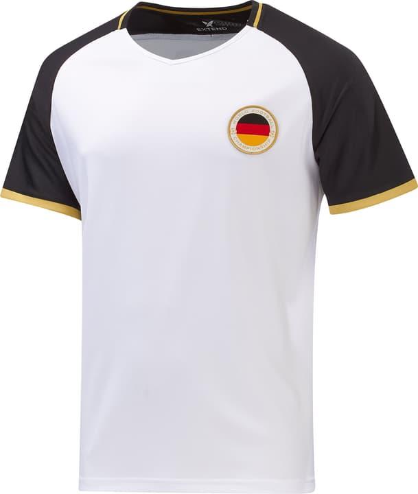 Deutschland Fussball-Fan-Shirt Extend 498283200710 Farbe weiss Grösse XXL Bild-Nr. 1
