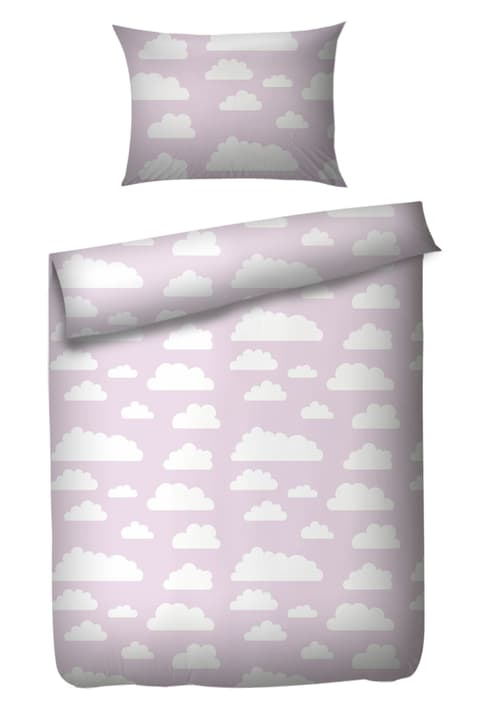 NUBES Parure de lit 451271614138 Couleur Rose Dimensions L: 100.0 cm x P: 135.0 cm Photo no. 1