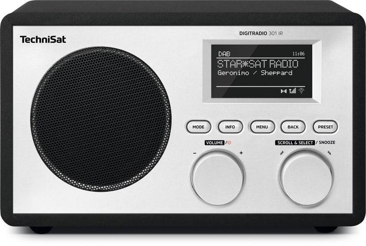 Digitradio 301 IR - Schwarz Digitalradio DAB+ Technisat 785300134718 Bild Nr. 1