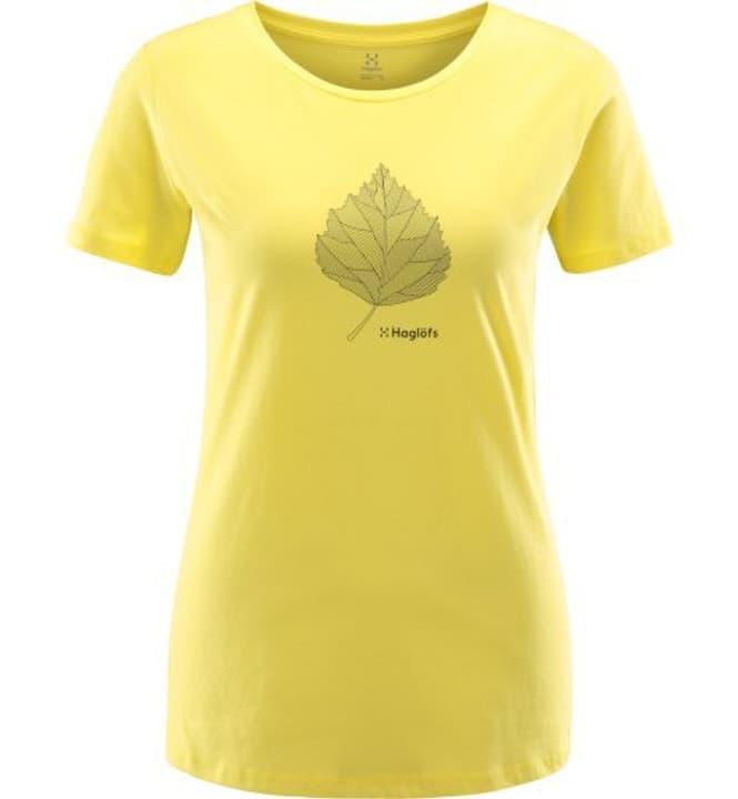 Mirth T-shirt à manches courtes pour femme Haglöfs 462781100659 Couleur jaune citron Taille XL Photo no. 1