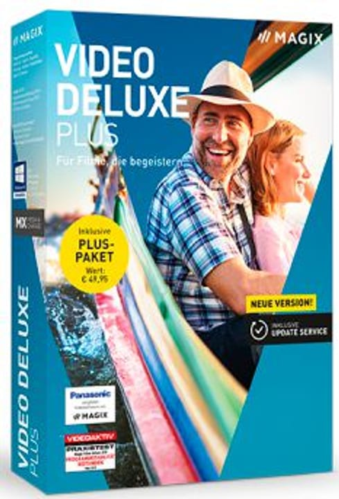 Video deluxe Plus 2019 [PC] (D) Fisico (Box) Magix 785300139194 N. figura 1