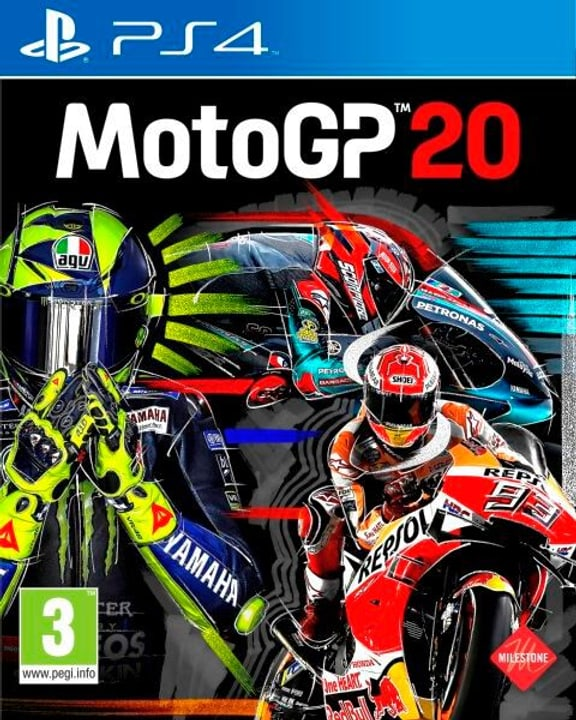 MotoGP 20 [PS4] (D/F/I) Box 785300151332 Photo no. 1