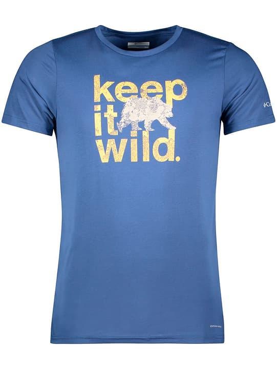 Tera Vale II Chemise à manches courtes pour homme Columbia 465777800543 Couleur bleu marine Taille L Photo no. 1