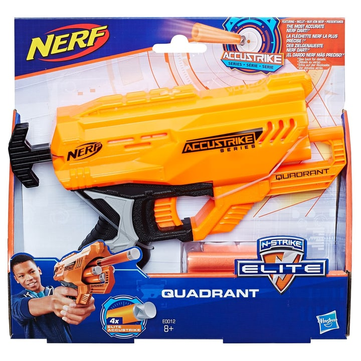 Nerf N-Strike Elite Accustrike Quadrant 743340800000 Photo no. 1