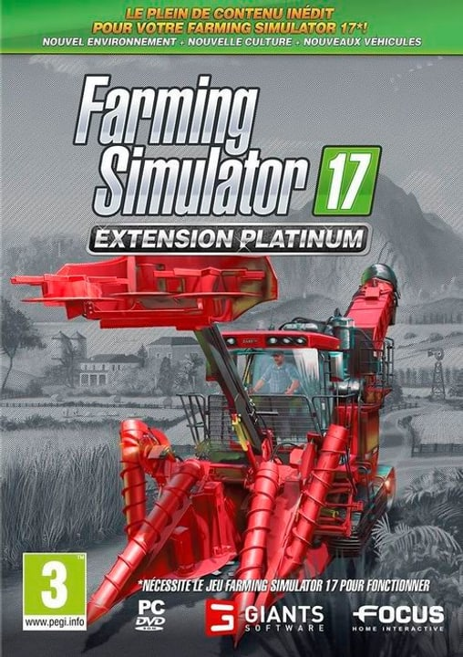PC - Farming Simulator 2017 - Extension Platinium F Physique (Box) 785300130451 Photo no. 1
