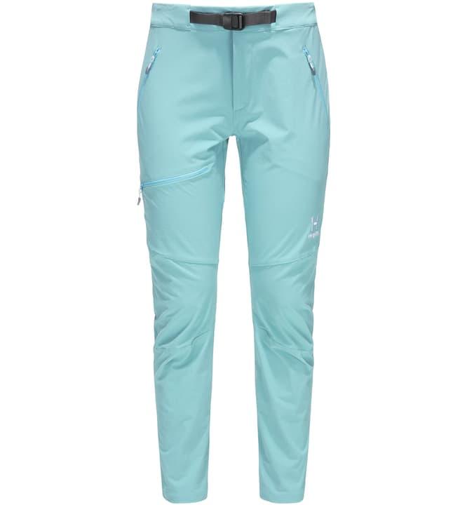 Lizard Pant Pantaloni da donna Haglöfs 465763503882 Colore turchese chiaro Taglie 38 N. figura 1