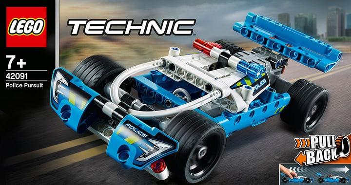 LEGO Technic 42091 La voiture de po 748705700000 Photo no. 1