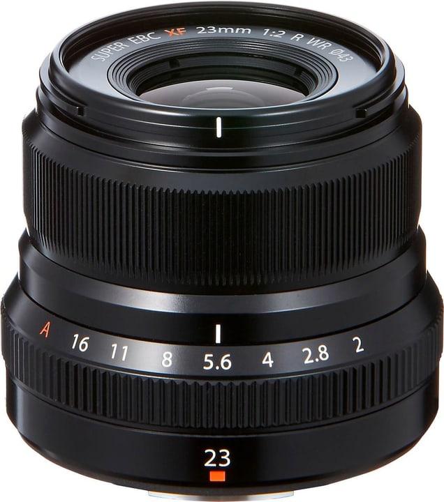 Fujinon XF 23mm F2 R WR schwarz Objektiv FUJIFILM 785300125825 Bild Nr. 1