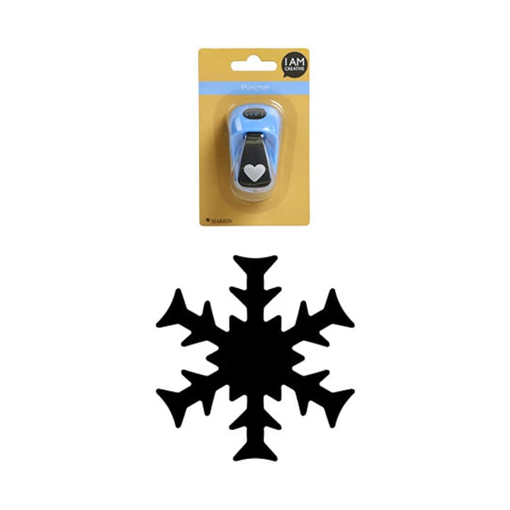 PERFORATEUR Ø25.4MM I AM CREATIVE 665540200040 Motif flocon neige Photo no. 1