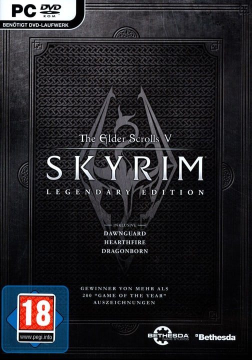 PC - Pyramide: The Elder Scrolls V Skyrim - Legendary Edition Fisico (Box) 785300121618 N. figura 1