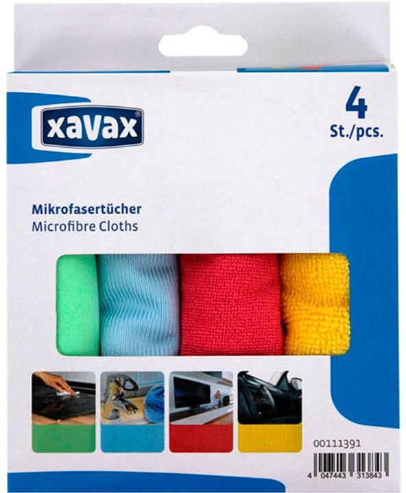 Microfibre Cloths Vari panni / mop Hama 717393800000 N. figura 1