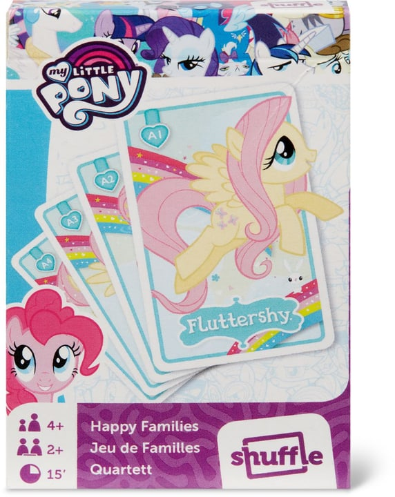 My little Pony Shuffle Fun (FSC®) 748917000000 Photo no. 1