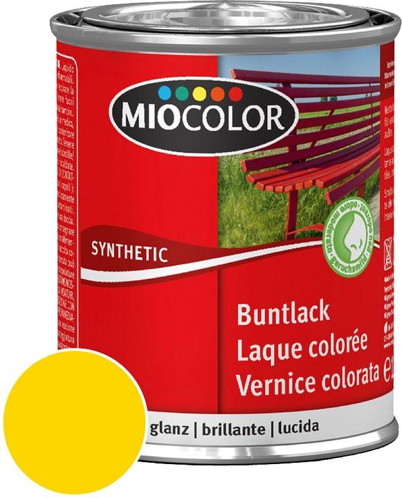 Synthetic Vernice colorata lucida Giallo navone 750 ml Miocolor 661427400000 Contenuto 750.0 ml Colore Giallo navone N. figura 1