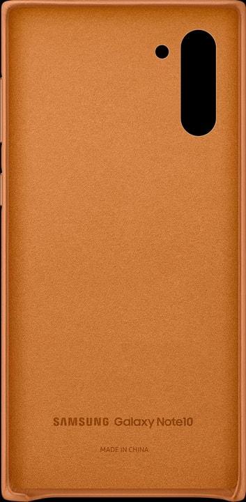 Leather Cover camel Hülle Samsung 785300146395 Bild Nr. 1
