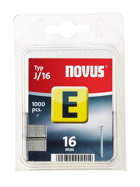 Chiodi E Typ J/16 NOVUS 601257400000 Taglio 16 mm / 1'000x N. figura 1