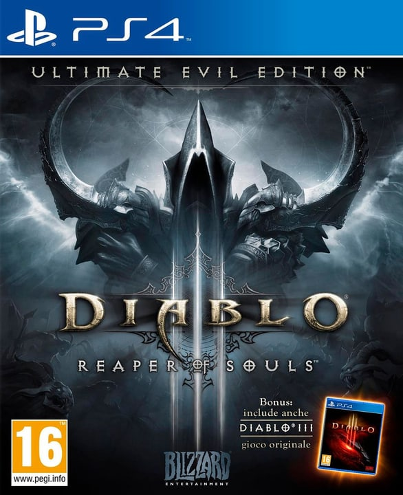 PS4 - Diablo III: Ultimate Evil Edition Fisico (Box) 785300118725 Lingua Italiano Piattaforma Sony PlayStation 4 N. figura 1