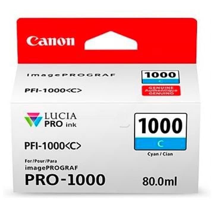 PFI-1000 Tintenpatrone cyan Canon 785300126464 Bild Nr. 1