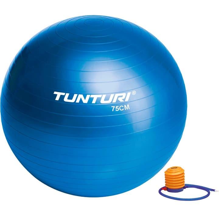 Gymnastikball D75cm blau Tunturi 463035800000 Bild-Nr. 1