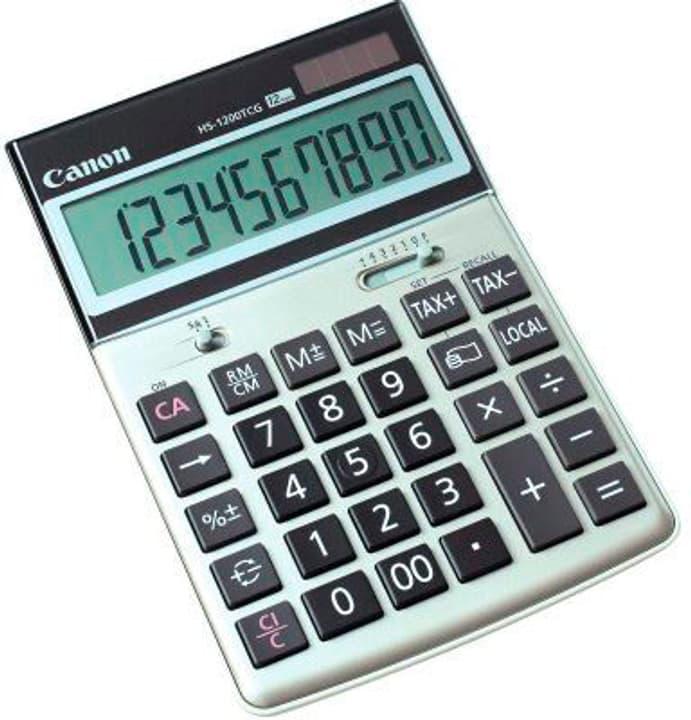 Calculatrice HS-1200TCG 12-chiffres argent/gris Calculatrice Canon 785300151408 Photo no. 1
