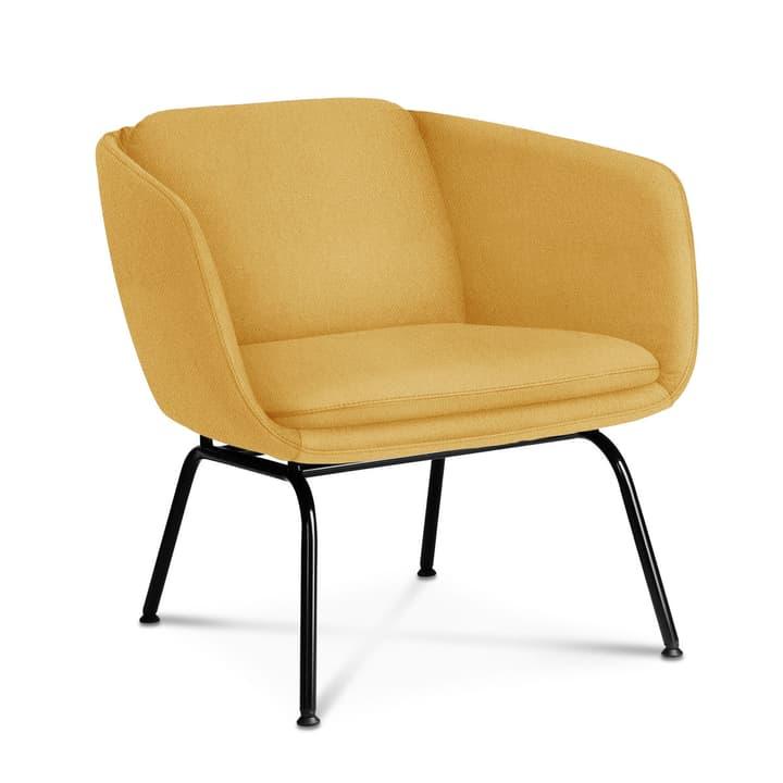 REYK Sessel 360055997602 Grösse B: 74.0 cm x T: 79.0 cm x H: 70.0 cm Farbe Gelb Bild Nr. 1