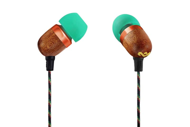 Smile Jamaica - Rasta Cuffie In-Ear House of Marley 785300132108 N. figura 1