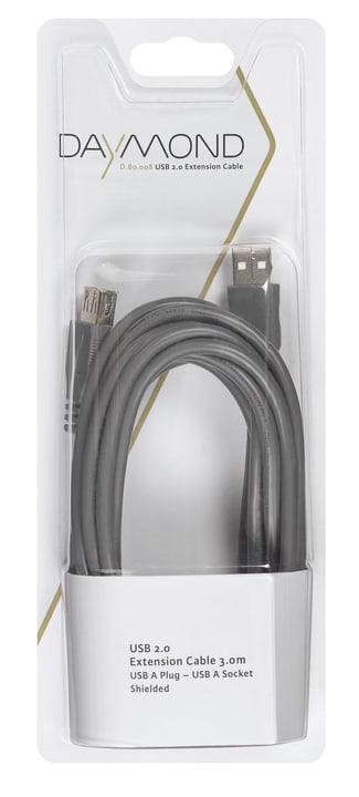USB 2.0 Verl 3m grigio Cavo Daymond 797952900000 N. figura 1
